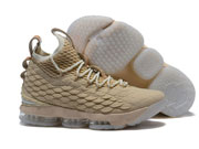 Mens Nike Lebron 15 Running Shoes Khaki Colour