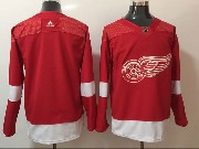 Mens Nhl Detroit Red Wings Blank Adidas Red Jersey