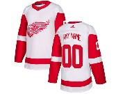 Mens Nhl Detroit Red Wings Custom Made Adidas White Jersey