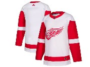 Mens Nhl Detroit Red Wings Blank Adidas White Jersey