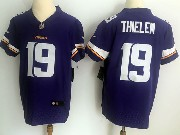 Mens Nfl Minnesota Vikings #19 Adam Thielen Purple Vapor Untouchable Elite Jersey
