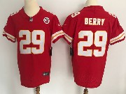 Mens Nfl Kansas City Chiefs #29 Berry Red Vapor Untouchable Limited Player Jersey