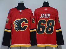 Mens Nhl Calgary Flames #68 Jaromir Jagr Red Adidas Jersey