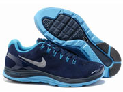 Mens Nike Anti-fur Moon Running Shoes Blue Colour