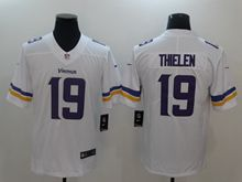 Mens Nfl Minnesota Vikings #19 Adam Thielen White Vapor Untouchable Limited Jersey