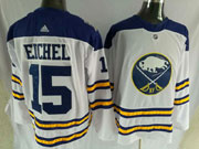 Mens Nhl Buffalo Sabres #15 Jack Eichel 2018 Winter Classic White Adidas Jersey