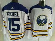 Mens Nhl Buffalo Sabres #15 Jack Eichel 2018 Winter Classic White Adidas Jersey