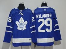 Mens Nhl Toronto Maple Leafs #29 William Nylander Blue Adidas Jersey