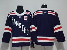 Mens Nhl New York Rangers (custom Made) Dark Blue 2018 Winter Classic Breakaway Adidas Jersey