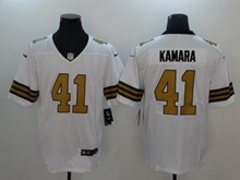 Mens New Orleans Saints #41 Alvin Kamara White Color Rush Vapor Untouchable Limited Player Jersey