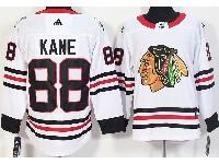 Mens Nhl Chicago Blackhawks #88 Patrick Kane White Adidas Jersey