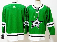 Mens Nhl Dallas Stars Blank Adidas Home Green Jersey
