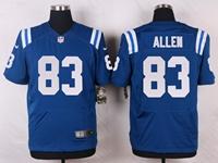 Mens Nfl Indianapolis Colts #83 Dwayne Allen Blue Elite Nike Jersey