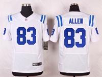 Mens Nfl Indianapolis Colts #83 Dwayne Allen White Elite Nike Jersey