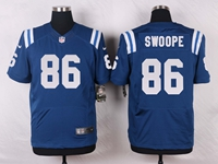 Mens Nfl Indianapolis Colts #86 Erik Swoope Blue Elite Nike Jersey