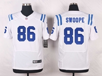 Mens Nfl Indianapolis Colts #86 Erik Swoope White Elite Nike Jersey