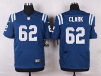 Mens Nfl Indianapolis Colts #62 Le'raven Clark Blue Elite Nike Jersey