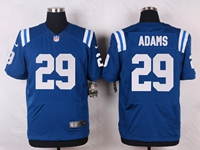 Mens Nfl Indianapolis Colts #29 Mike Adams Blue Elite Nike Jersey