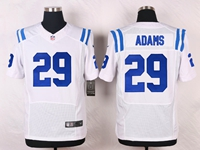Mens Nfl Indianapolis Colts #29 Mike Adams White Elite Nike Jersey