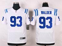 Mens Nfl Indianapolis Colts #93 Erik Walden White Elite Nike Jersey