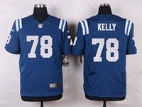 Mens Nfl Indianapolis Colts #78 Ryan Kelly Blue Elite Nike Jersey