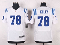 Mens Nfl Indianapolis Colts #78 Ryan Kelly White Elite Nike Jersey