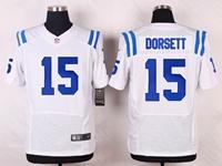 Mens Nfl Indianapolis Colts #15 Phillip Dorsett White Elite Nike Jersey