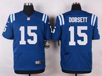 Mens Nfl Indianapolis Colts #15 Phillip Dorsett Blue Elite Nike Jersey