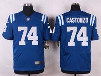 Mens Nfl Indianapolis Colts #74 Anthony Castonzo Blue Elite Nike Jersey