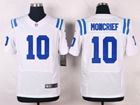 Mens Nfl Indianapolis Colts #10 Donte Moncrief White Elite Nike Jersey