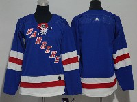 Youth Nhl New York Rangers Blank Blue Adidas Jersey