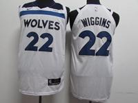 Mens 2017-18 Season Nba Minnesota Timberwolves #22 Andrew Wiggins White Nike Jersey