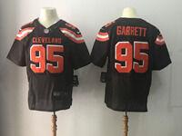 Mens Nfl Cleveland Browns #95 Myles Garrett Brown Elite Jersey