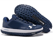 Mens Under Armour Fat Tire Running Shoes Blue Colour