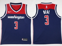 New Mens Nba Washington Wizards #3 Bradley Beal Blue Swingman Nike Jersey