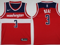 New Mens Nba Washington Wizards #3 Bradley Beal Red Swingman Nike Jersey