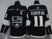 Mens Nhl Los Angeles Kings #11 Anze Kopitar Black Adidas Jersey