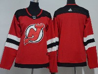 Women Nhl New Jersey Devils Blank Red Adidas Jersey