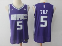 Mens Nba Sacramento Kings Custom Made Nike Purple Jersey