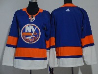 Women Youth Nhl New York Islanders Blank Blue Adidas Jersey