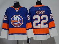 Mens Nhl New York Islanders #22 Mike Bossy Blue Adidas Jersey
