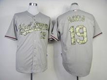 Mens Mlb Baltimore Orioles #19 Chris Davis Gray Camo Number Jersey