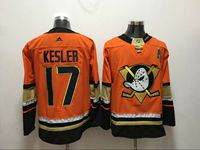 Mens Nhl Anaheim Mighty Ducks #17 Ryan Kesler Orange Adidas Jersey