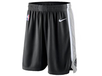 Mens 2017-18 Season Nba San Antonio Spurs Nike Black Shorts