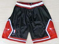 Mens Nba Chicago Bulls Black Nike Shorts(mesh)