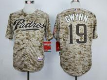 Mens Mlb San Diego Padres #19 Tony Gwynn Camo Cool Base Jersey