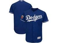 Mens Mlb Los Angeles Dodgers Blank Majestic Blue 2018 Spring Training Cool Base Player Jersey