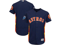 Mens Mlb Houston Astros Blank Majestic Navy 2018 Spring Training Flex Base Team Jersey