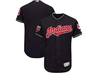 Mens Mlb Cleveland Indians Blank Majestic Navy 2018 Spring Training Flex Base Team Jersey