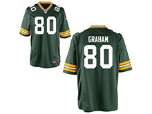 Mens Womens Youth Nfl Green Bay Packers #80 Jimmy Graham Green Nike Game Jersey